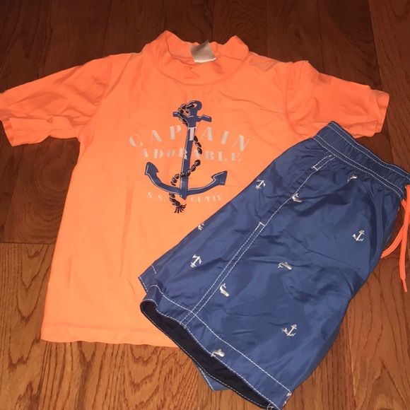 Carter's Other - CARTERS Bathing Suit & Rash Guard